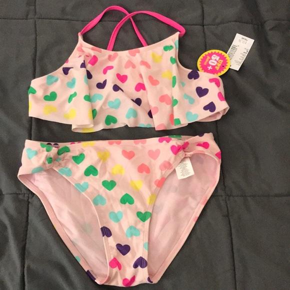 381d5f00c7edd Children's Place Swim | Girls 2pc Suit | Poshmark